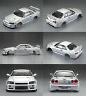 Killerbody 1/10 RC Painted Nissan Skyline BNR34 195mm Touring Drift Car Body