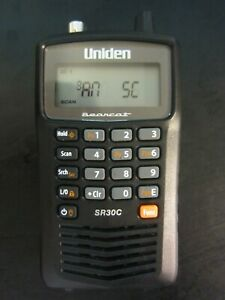 Uniden Bearcat SR30C, 500-Channel Compact Handheld Scanner ( Scanner ONLY)