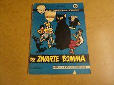 STRIP 1° DRUK / JOMMEKE N° 7 - DE ZWARTE BOMMA