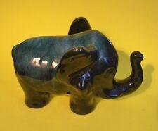 "Vintage Rare Blue Mountain Pottery 6.75 "" GREEN GLAZE DUMBO THE ELEPHANT - MINT"