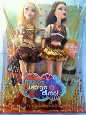 My Scene 2006 Kennedy/Chelsea Barbie dolls Let's go disco  MINT Sealed NRFB