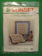 Sunset Counted Cross Stitch My True Love Gave To Me. 2917. Dawne Marshall Cooley