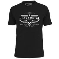 MENS HEAVY METAL PLAY LOUD T SHIRT MAIDEN MOTORHEAD METALLICA