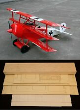 "63"" wingspan Fokker DR-1 R/c Plane short kit/semi kit and plans"