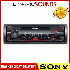 2 Sony DSX-A410BT Bluetooth AUX USB MP3 Android Ipod Iphone Mechless Estéreo