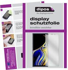 2x Samsung Galaxy Note 9 protector de pantalla protectores transparente Dipos