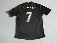 LIVERPOOL 2011-12 FOOTBALL AWAY SHIRT JERSEY SUAREZ 7 ,  MENS LARGE