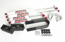 "F150 03 LIFT KIT FORGED 2"" SPACERS 1"" STEEL BLOCKS DOETSCH TECH SHOCKS 2WD"