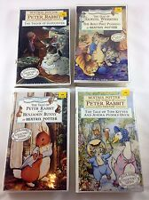 Beatrix Potter VHS Movies Peter Rabbit Lot Sealed Clamshell