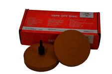 2 Stück Carsystem Tape Off Disc Premium Folienradierer 90 mm Autolack Lackpoint
