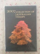 Collection of 2007 Australian Post YearBook Album with MUH Stamps - Deluxe