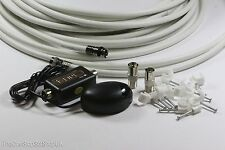 Global TV Link Sky Magic Eye Installation Kit With 10M Cable, Clips & Connectors