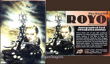 LUIS ROYO 3 - Best of Royo - Authentic Pack-pulled Autograph Chase Card