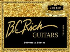 BC Rich Guitar Decal Headstock Decal Restoration Waterslide Logo 57g