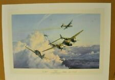 HOSTILE SKY by Robert Taylor Limited Edition Signed by 5 pilots