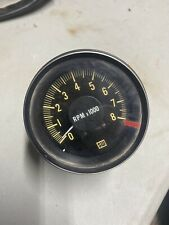 New listing Vintage Stewart Warner Hot Rod Tachometer 8,000 Rpm Rat Rod Muscle Drag Car Sw
