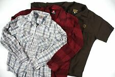 SHIRT LOT -m/L-Quiksilver/Street Rod/+ button up flannel & plaid & bowling top-
