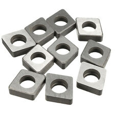 120408/04/12 CNC Tool Holder 10x SC1204 Carbide Insert Shim Seats For CNMG CNMM