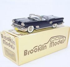 Brooklin Models 1:43 PONTIAC BONNEVILLE CONVERTIBLE 1958 BRK25 Car MIB`85 RARE!