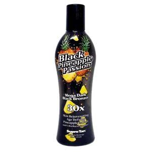 Supre Tan Black Pineapple Passion Dark Bronzing Sunbed UVA Tanning Lotion Cream