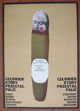 Polish Poster - The Man Who Stopped Smoking -Daniellson