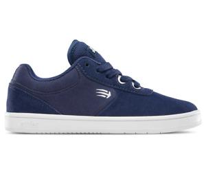 Etnies Kids Joslin Navy Youth Suede Skateboard Shoes