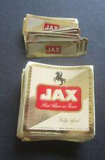 Wholesale Lot of 100 Old Vintage - Jax - Mini Beer Labels - Jackson Brewing