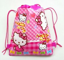 Hello Kitty Pink Swimming Bag Drawstring School Birthday Party favour