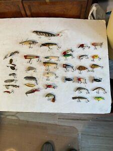 HEDDON FISHING LURES-& OTHER (VINTAGE)