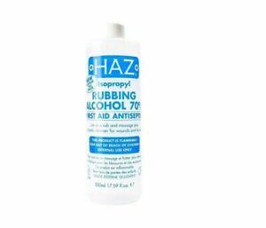 Haz Isopropyl Rubbing Alcohol 70% 500ml