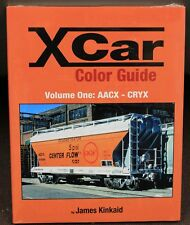 MORNING SUN BOOKS - X-CAR Color Guide Volume 1: AACX - CRYX - HC 128 Pages