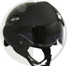 Open Face scooter Helmet Osbe GPA Aircraft Tornado Matt Black L 59-60 cm