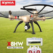 Original SYMA X8HW RC Quadcopter Drone FPV Real Time Wifi Hover Camera 3D Flip