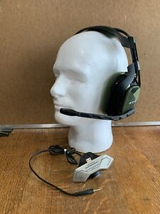 Astro Gaming A40 TR Headset -Xbox One- Black/Olive Tested Works Great Sound Nice