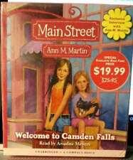 Main Street Ann Martin Welcome to Camden Falls NEW CDs Audio Book
