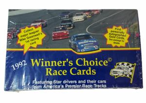 1992 Winner's Choice Race Cards Sealed Box