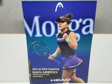 *New* Head Bianca Andreescu In-Store Display Hanging Tennis Poster. Promo Item