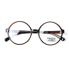 1920s Vintage oliver retro round eyeglasses 85e04 Brown frames eyewear rubyruby