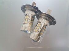 Passend für Nissan Primera 06 + Satz 2 X H7 Cree 16 Led Scheinwerferlampen