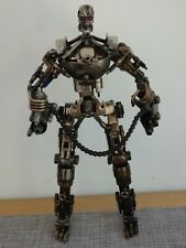 Terminator endoskeleton  metal statue model scrap metal model