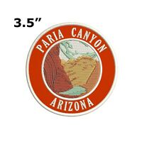 PARIA CANYON ARIZONA EMBROIDERED PATCH IRON-ON OR SEW-ON VACATION APPLIQUE