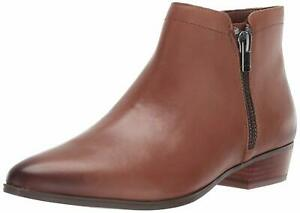 Naturalizer Womens Blair Leather Almond Toe Ankle, Banana Bread, Size 6.0 iqQw