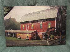 Ye Olde Cider Mill Lighted Canvas Wall Decor Sign Sturbridge Massachusetts