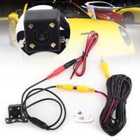 4 LED 12V Back Up Rear View Reverse Backup Camera Cam Night Vision Waterproof TH