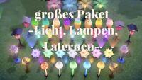 Animal Crossing NH 🎇🎆großes Licht-Paket (Lampen, Laternen)🎆🎇