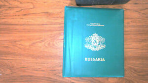 BULGARIA COLLECTION IN KENMORE ALBUM, MINT/USED