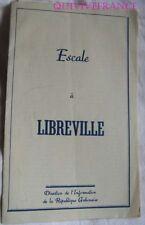 PB167 -  ESCALE A LIBREVILLE