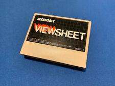 VIEWSHEET ROM Cartridge for Acorn Electron Computer software Acornsoft