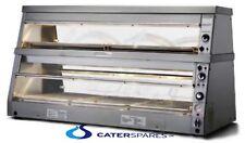 2 xHENNY PENNY HCW5 HCW3 CHICKEN WARMER DISPLAY CABINET PLASTIC WINDOW DOOR FLAP