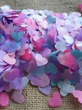 1300 confettis coeur licorne Mariage Anniversaire Décoration table Ballon